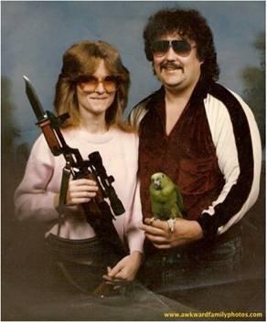 parrot gun